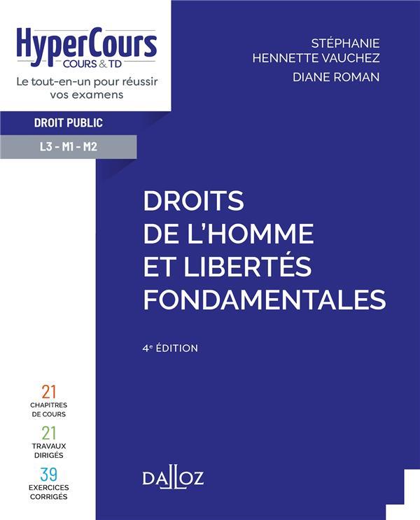 Droits de l'Homme et libertés fondamentales (4e édition)