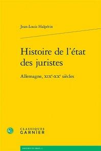 Histoire de l'état des juristes : Allemagne, XIXe XXe siècles